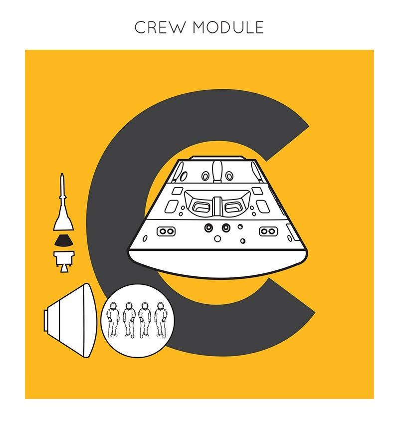 C- Crew Module