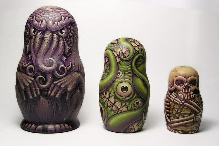 Pop Culture Russian Dolls Lovecraft