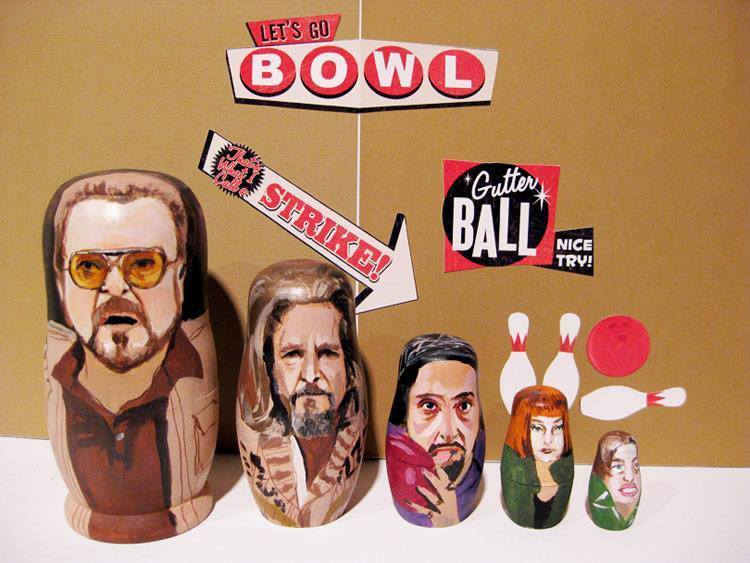 Pop Culture Russian Dolls Lebowski