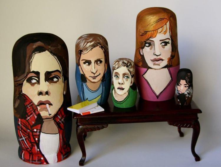 Pop Culture Russian Dolls Breakfast Club
