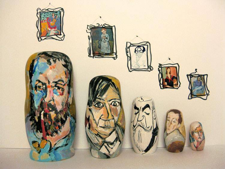 Pop Culture Russian Dolls Artists