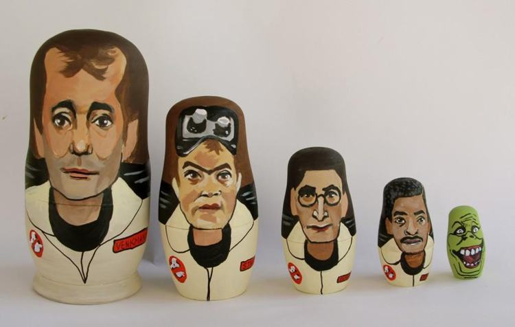Pop Culture Russian Dolls Ghost Busters