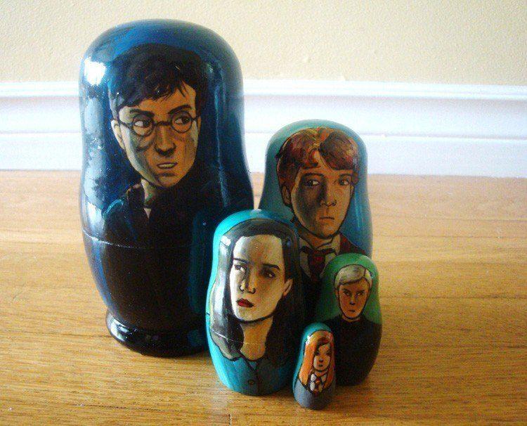 Pop Culture Russian Dolls Harry Potter