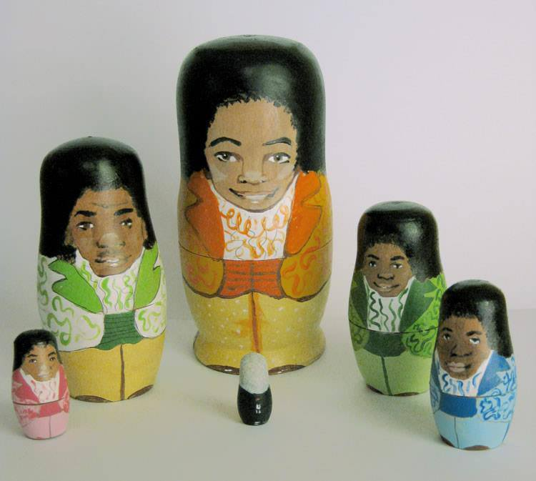 Pop Culture Russian Dolls Five