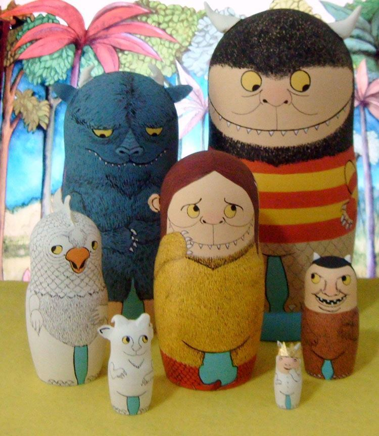 Pop Culture Russian Dolls Wild Things