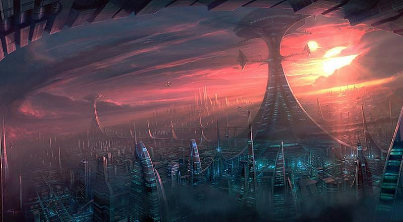 Sci Fi Movie Blunders Alien City