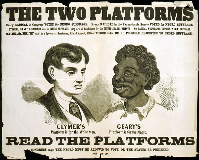 Jim Crow Clymer Geary Poster