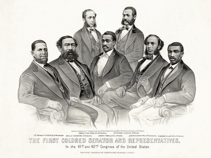Jim Crow First Black Congressmen