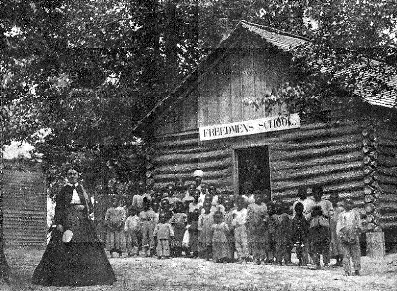 Jim Crow Freedman's School Cabin