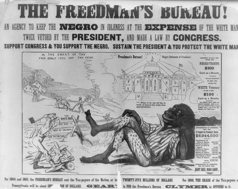 Jim Crow Idleness Poster