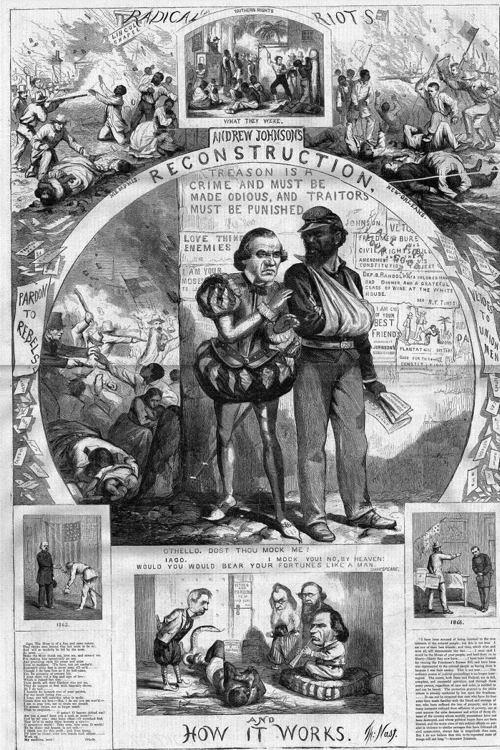 Jim Crow Johnson Poster