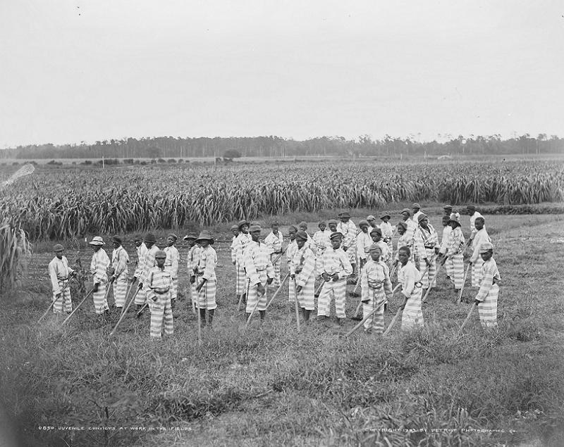 Jim Crow Chain Gang Kids