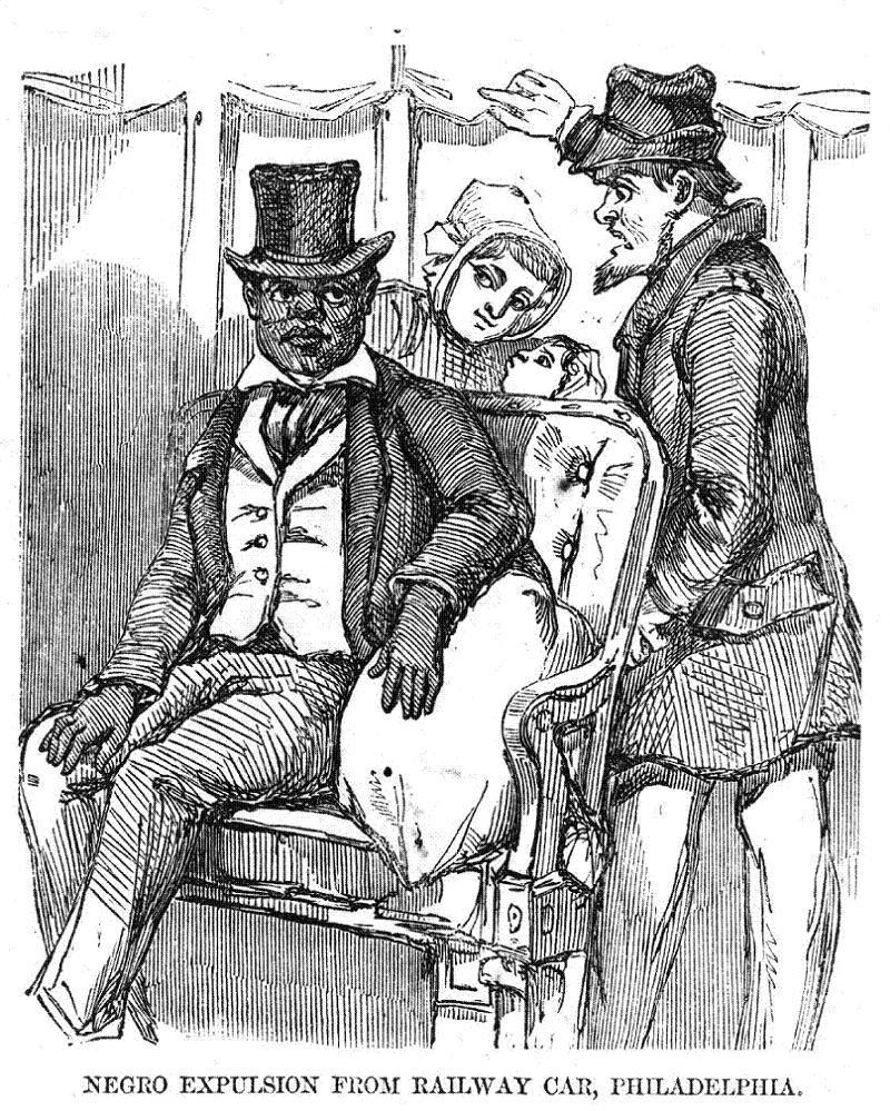 Jim Crow Rail Car Expulsion