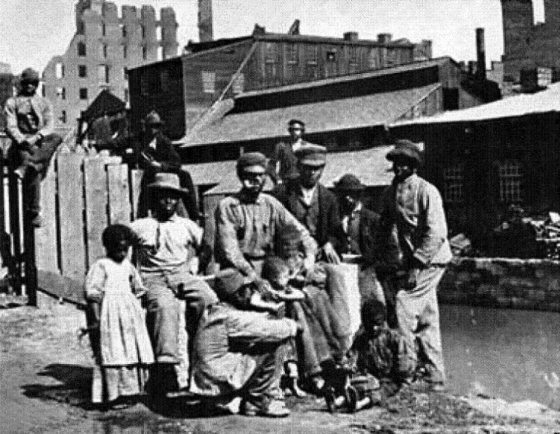 Jim Crow Reunited Family