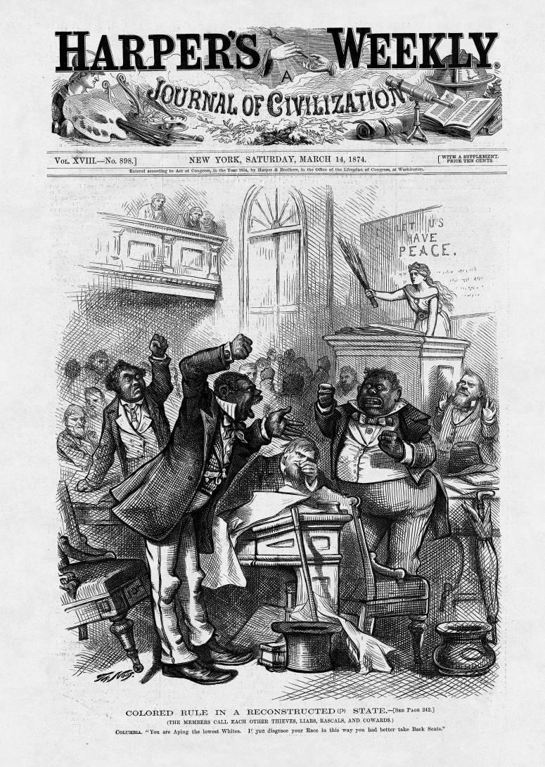 Jim Crow Nast Poster