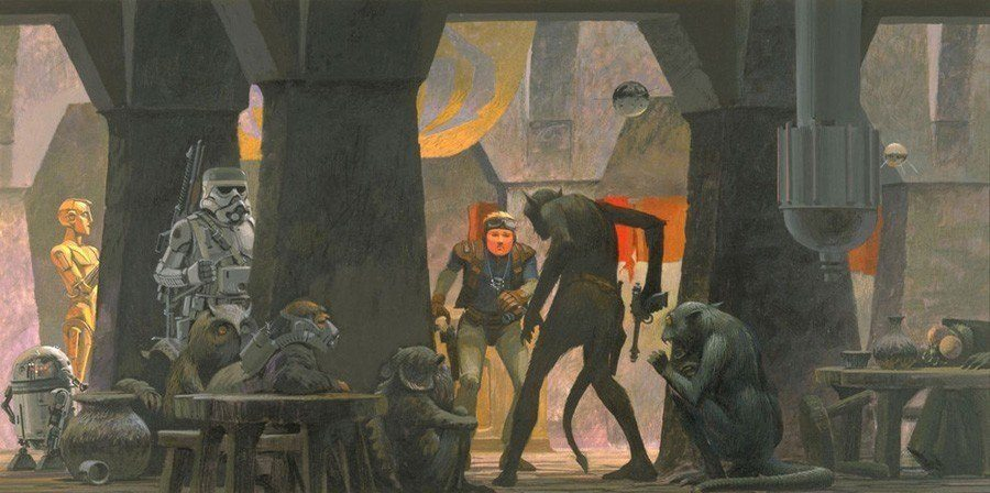 Cantina Fight