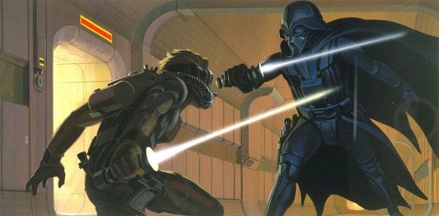 Ralph McQuarrie Vader Fight