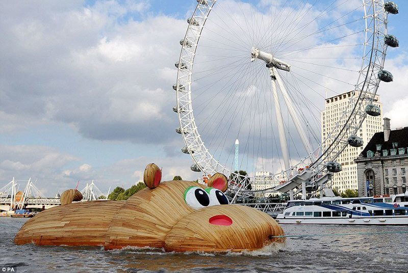 HippoThames Surprising Photos 2014
