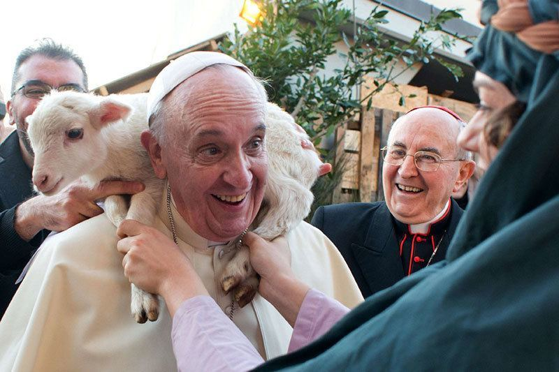 Pope Francis Surprising Photos