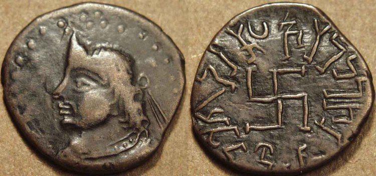 Swastikas Coin