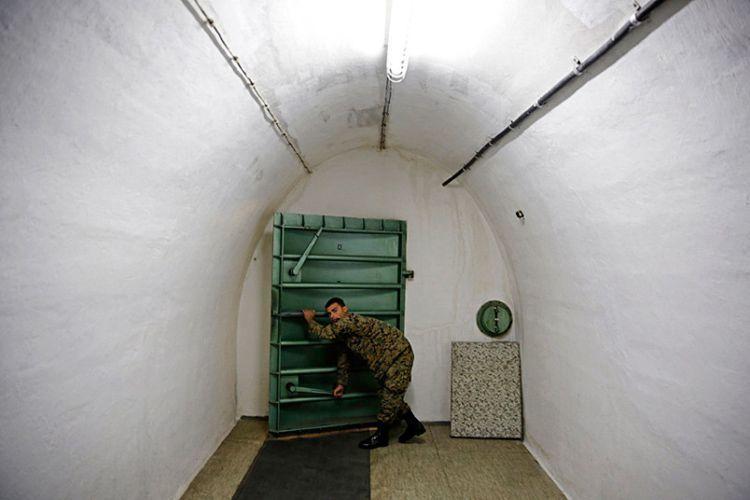 1950s Bunker Heavy Door