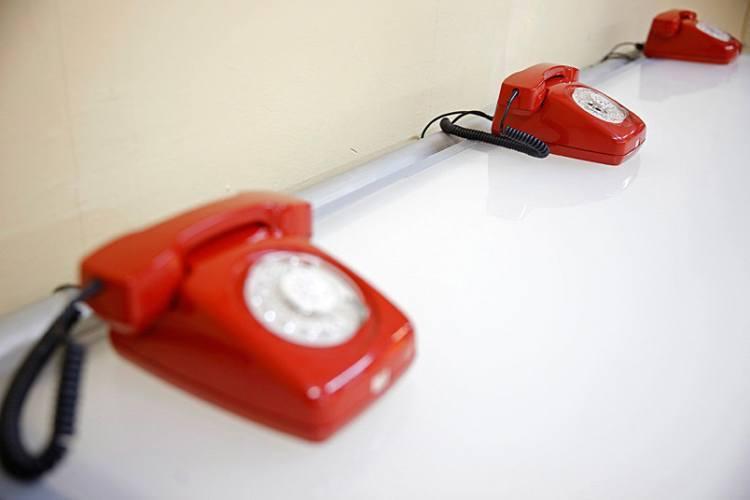 1950s Bunker Red Phones