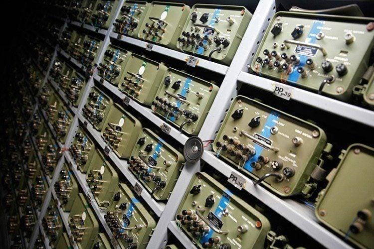 1950s Bunker Switch Board