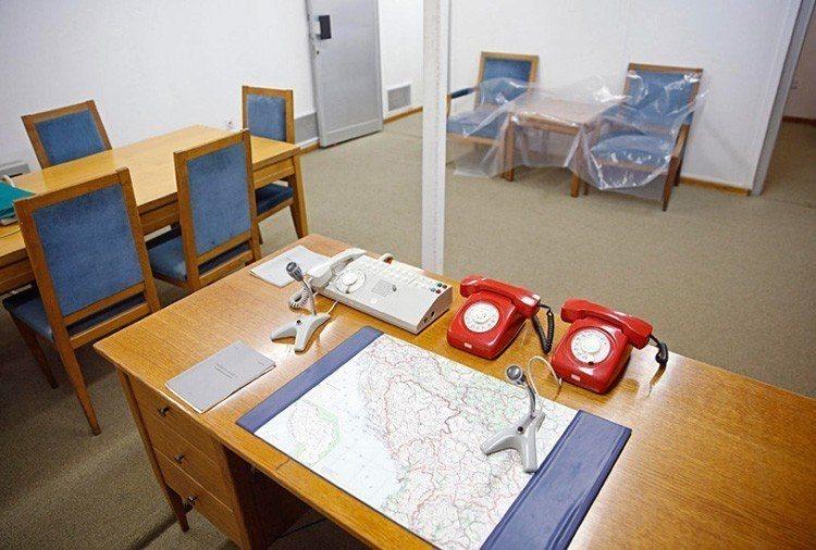 1950s Bunker War Room