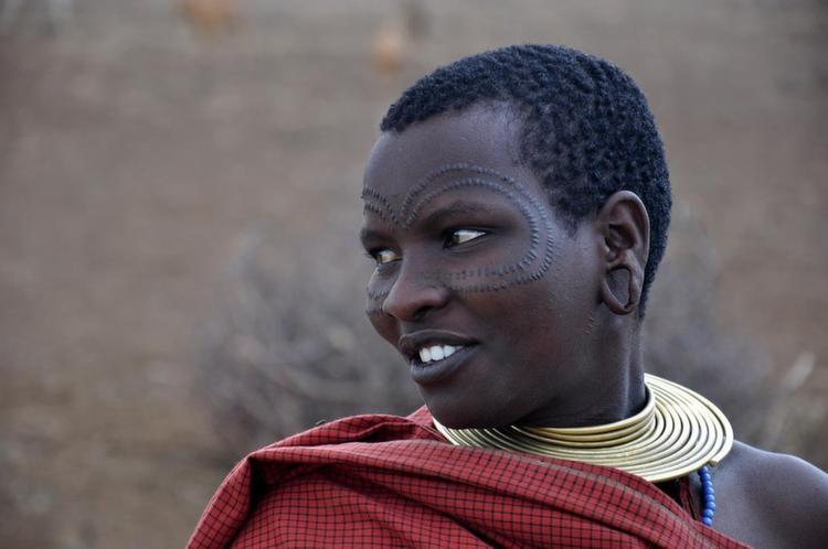 Tribal Traditions Scar Woman