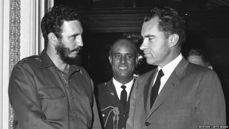 US Cuba Relations Castro Nixon