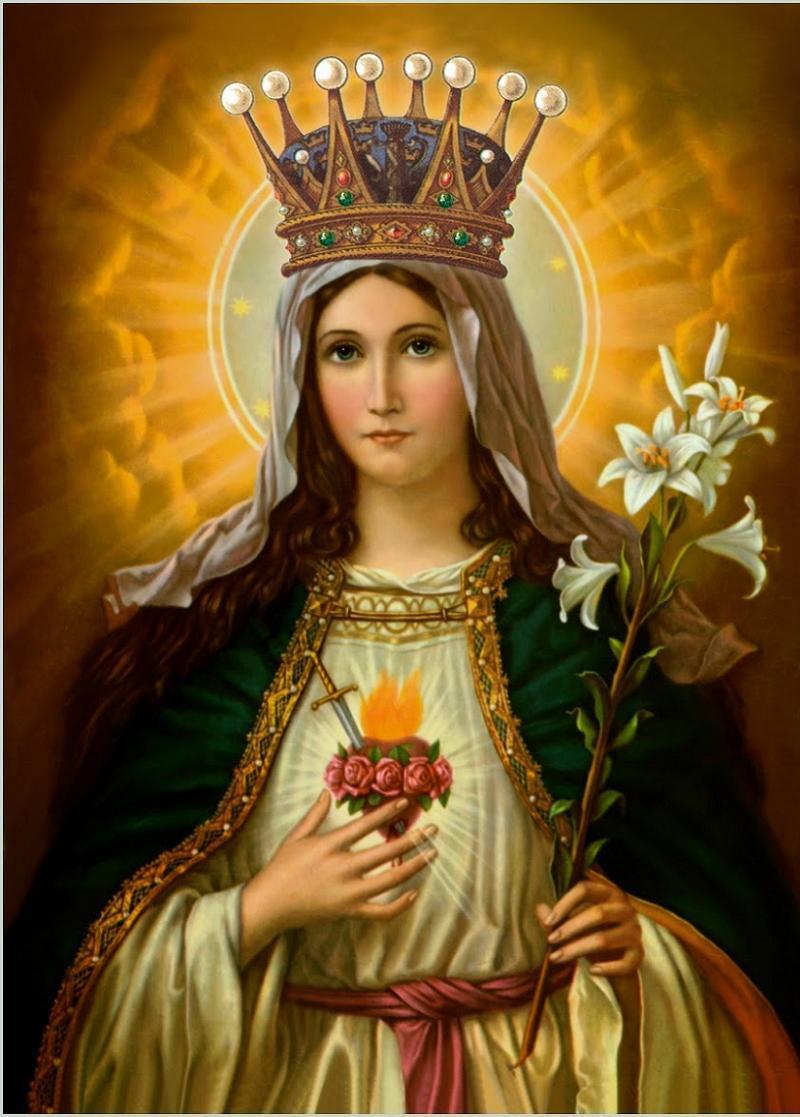 Saint Veronica Virgin Mary