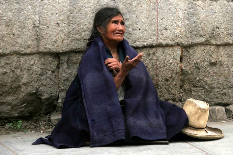Saint Veronica Begging