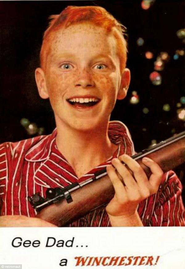 Winchester Gun Vintage Ads