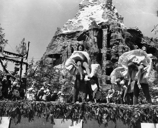 Dancers at Matterhorn Attraction