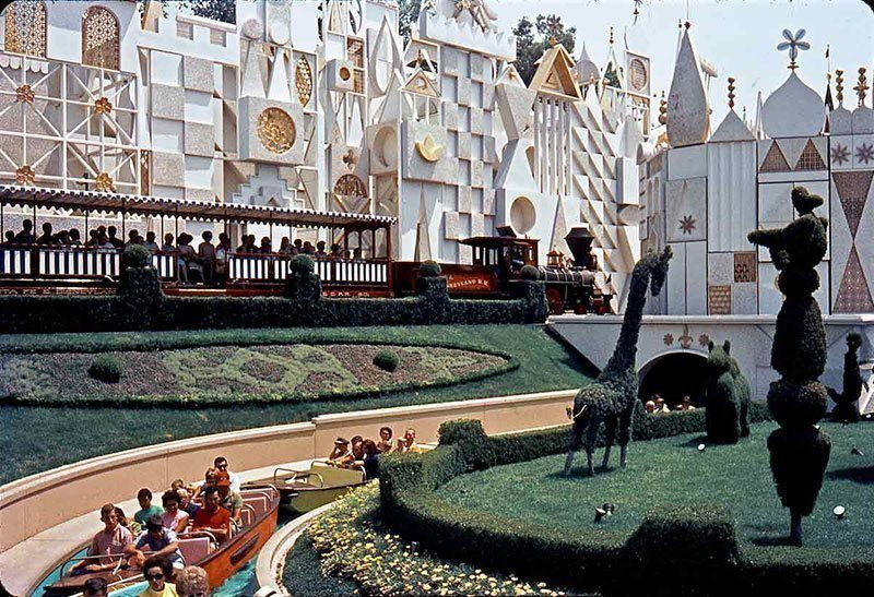 It's A Small World Vintage Disneyland