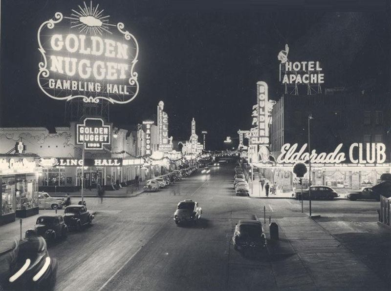 1940 Las Vegas at Night