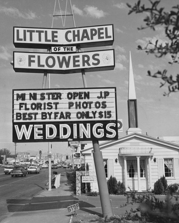 Las Vegas Wedding 1970