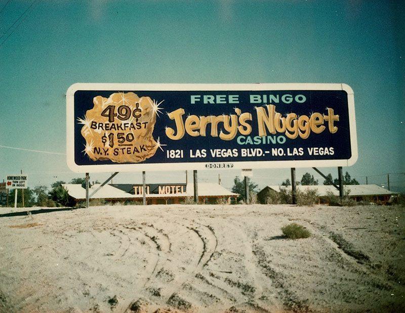 Vintage Las Vegas Billboard