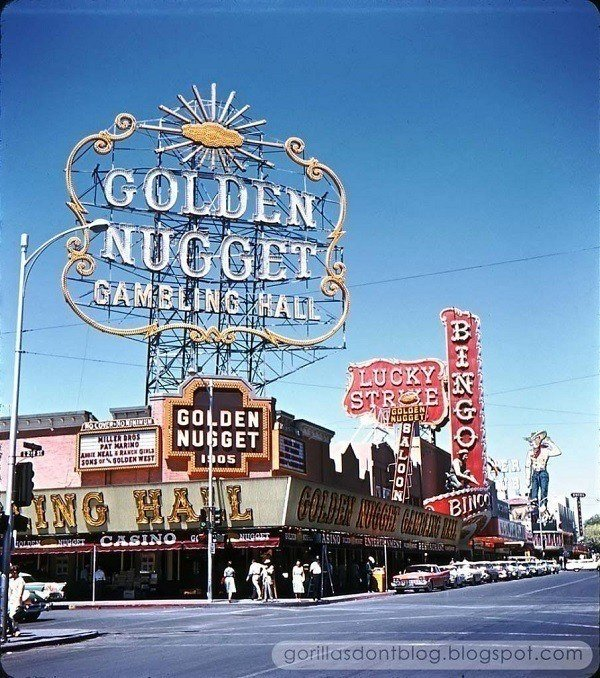 Vintage Golden Nugget Casino
