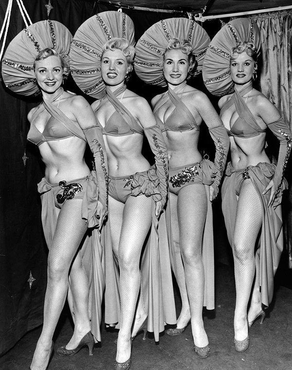 Showgirls in Las Vegas