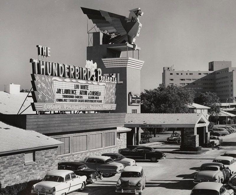 Vintage Las Vegas Thunderbird Hotel