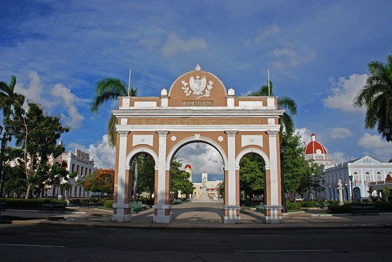 Arco de Triunfo in Cuba