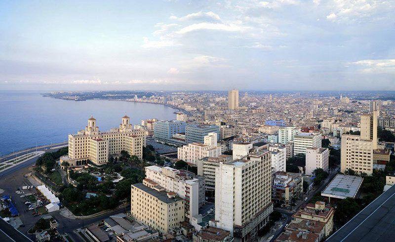Birds-Eye View of Havana