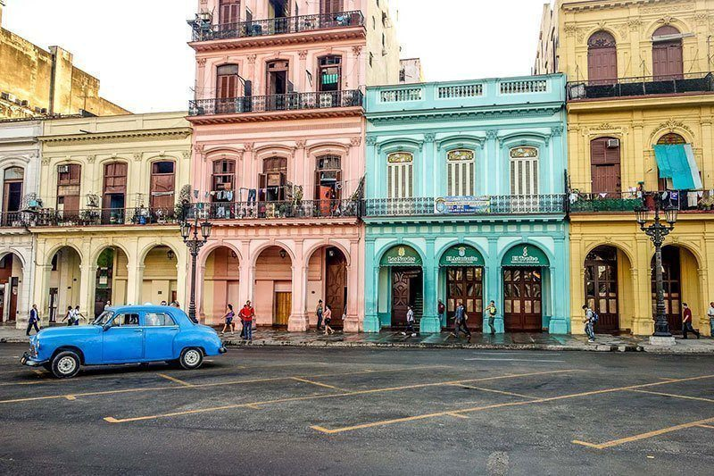 Colorful City of Havana, Cuba