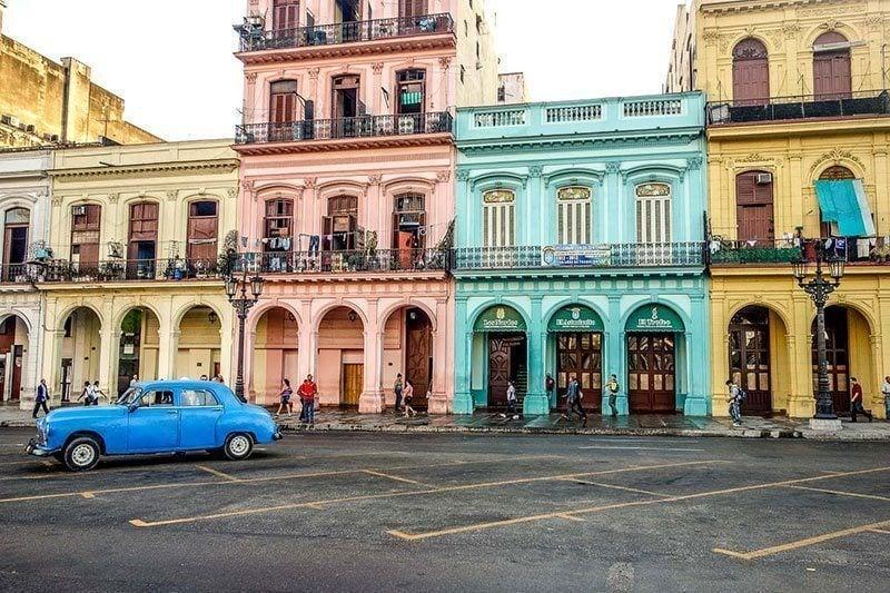 Colorful City of Havana, Cuba
