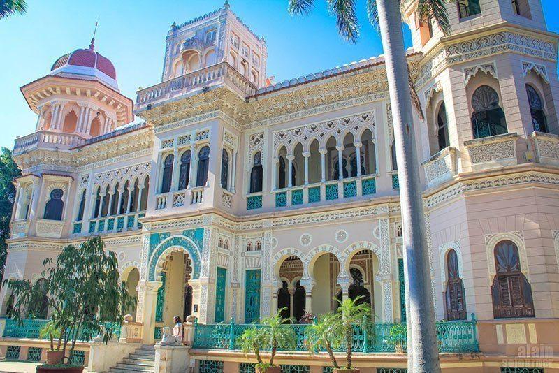 Palacio de Valle in Cuba