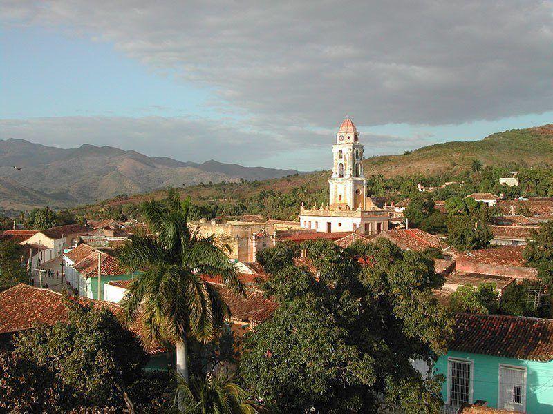 Trinidad Church in Cuba