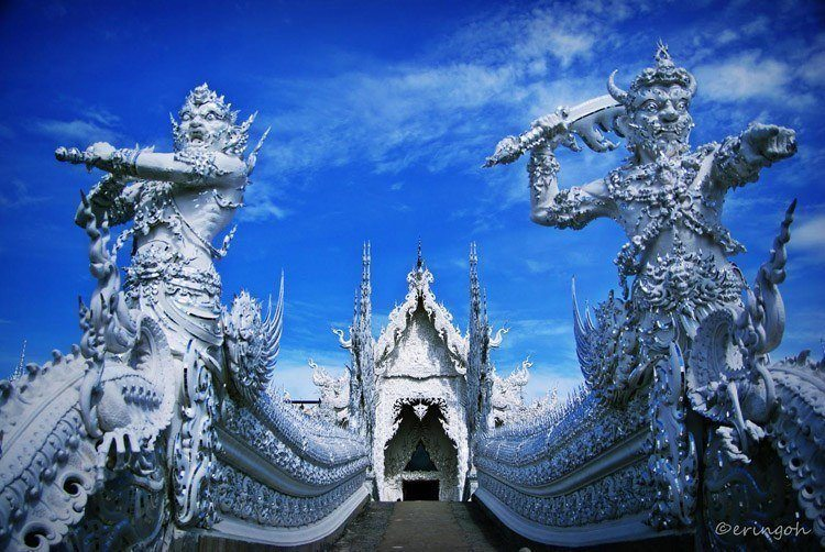 White Temple Warriors
