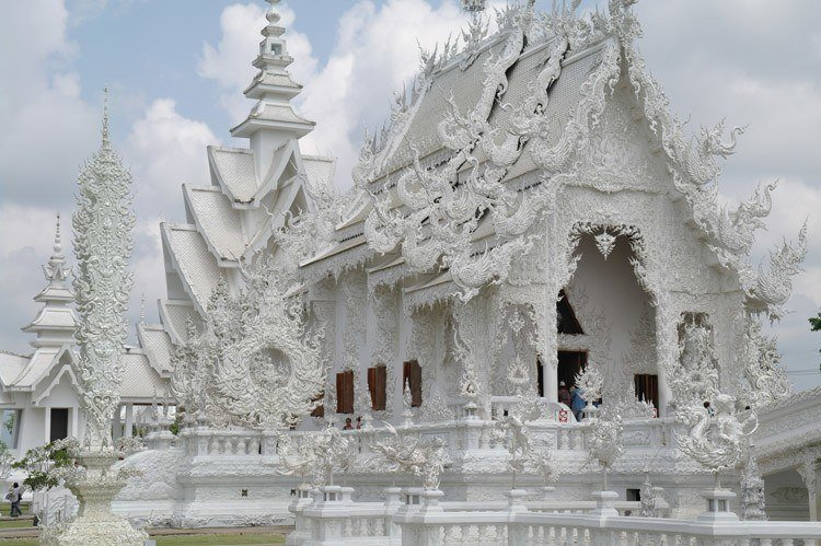 White Temple Of Thailand