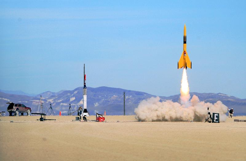 2015 Science Rocket Desert